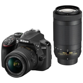Camera Nikon D3400 Kit 18-55 + 70-300