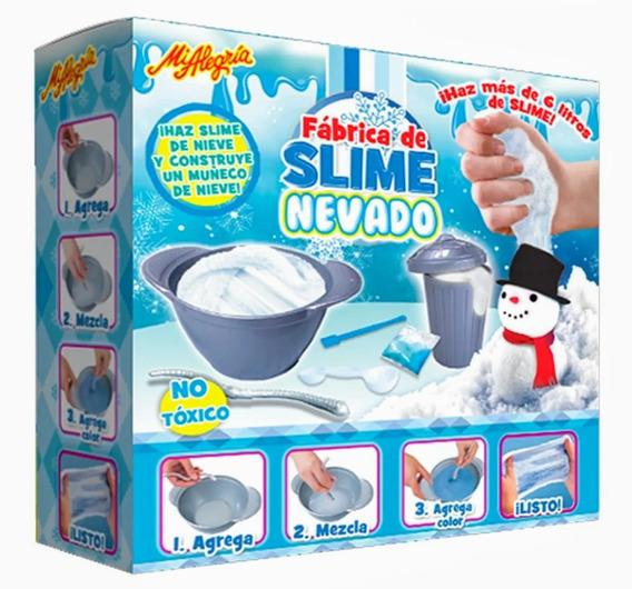 Fabrica De Slime Nevado Mi Alegria