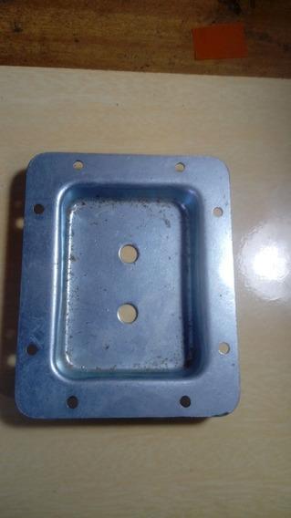 Espelho Metal Para Caixa De Som Para Plugue P10