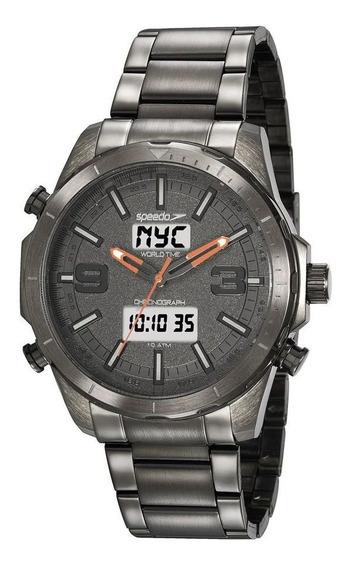 Relógio Speedo Masculino Ref: 15022gpevss2 Anadigi Grafite