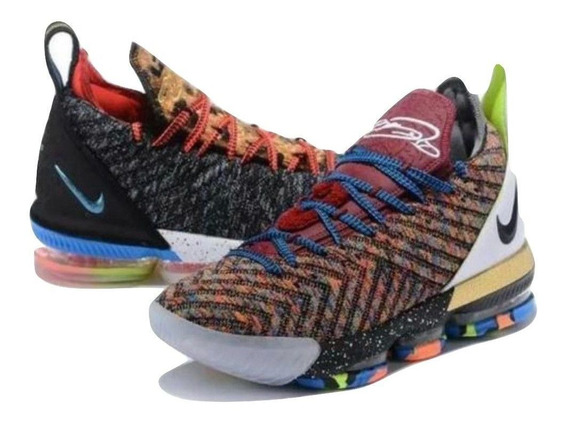 Tenis Leblon James Xvi Nike Usado Tamanho 38