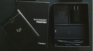 Blackberry Passport Liberado,com Carregador, Fio E Fones