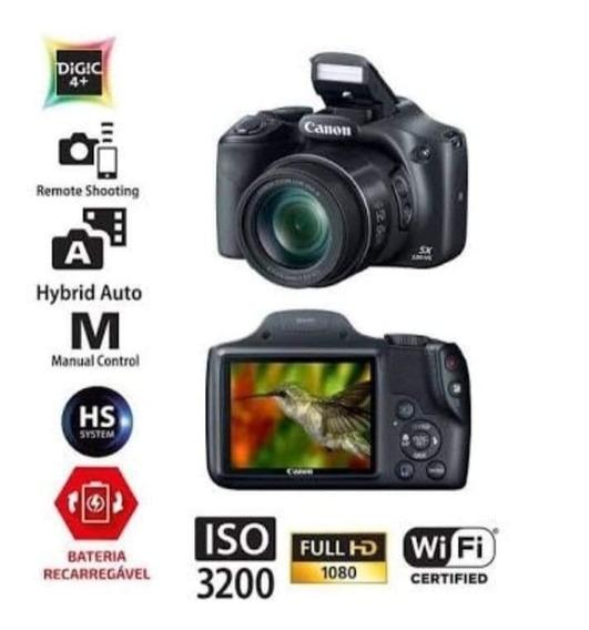 Câmera Semi Profissional Sx530hs