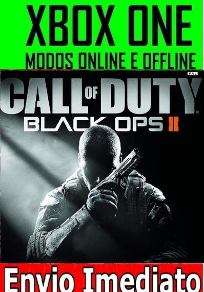 Call Of Duty Black Ops 2 Xbox One Mídia Digital