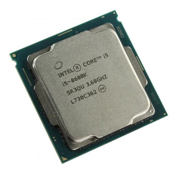 Processador Intel Core i5-8600K CM8068403358508 6 núcleos 128 GB