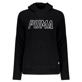 Moletom Puma Athletics Feminino Preto