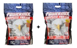 Kit Power Mix Proteína 2 Sacos De 1,8kg Cada Giants