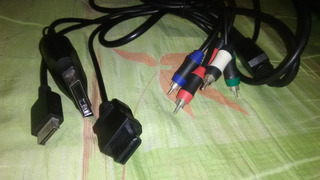 Cable Av Componente Playstation Ps2 Ps3 Xbox 360 Wii Play