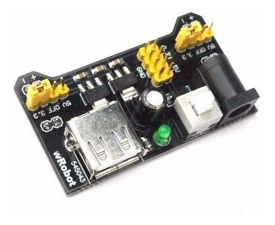 -ódulo Regulador De Tensão Protoboard 3,3 V E 5,5 V Arduino