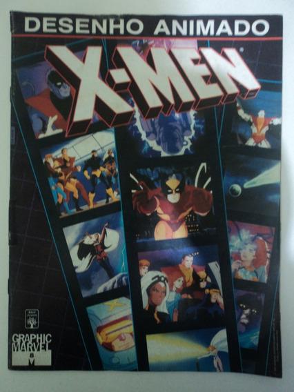 Hq-desenho Animado X-men:#8:graphic Marvel:magneto,wolverine