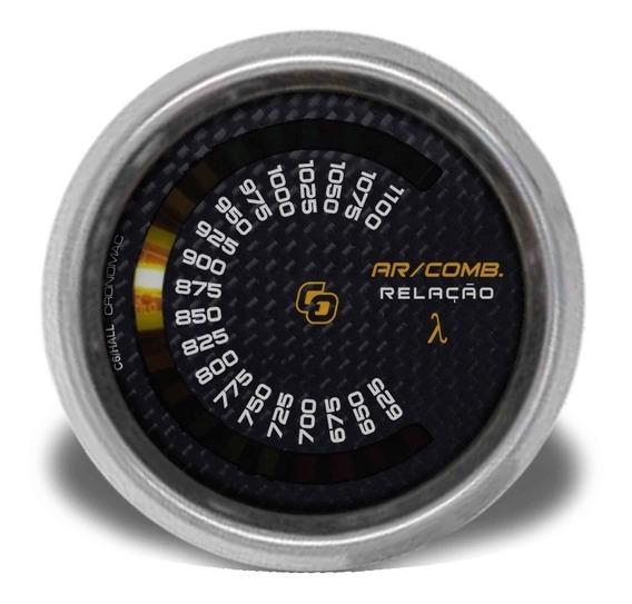 Hallmeter Escala Cronomac Carbono 60mm