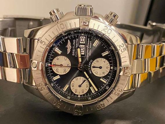 Relógio Breitling Super Ocean Crono A13340 42mm.