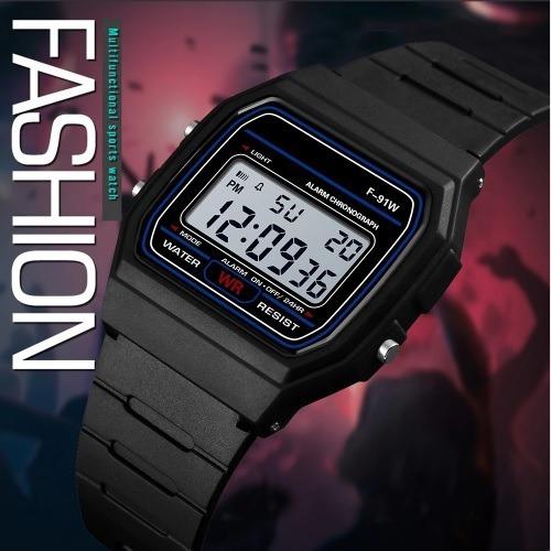 Relógio Digital Feminino Masculino Retrô Vintage Promoção