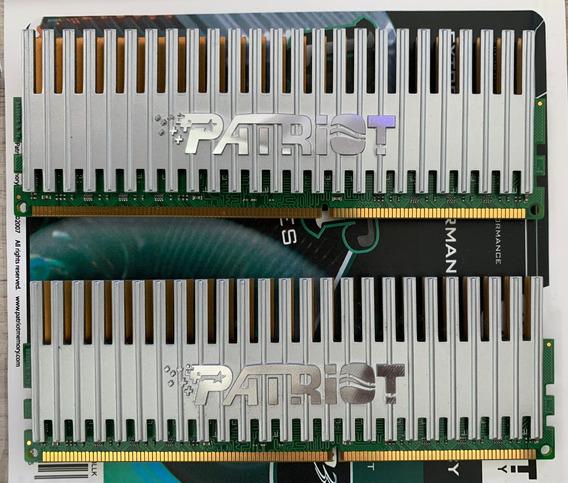 Kit Memórias Ddr3 2x2gb Patriot 1333mhz
