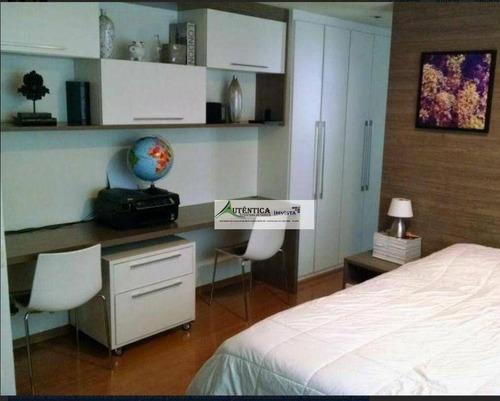 Imagem 1 de 9 de Apartamento Com 4 Dormitórios À Venda, 140 M² Por R$ 1.065.000,00 - Sion - Belo Horizonte/mg - Ap1674