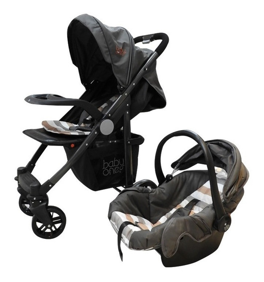 Baby One Coche Travel System C/base Y Cubre Pies Bots-020