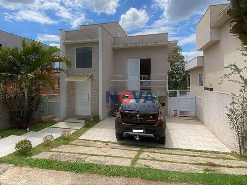 Imagem 1 de 23 de Casa Com 3 Dormitórios À Venda, 141 M² Por R$ 730.000,00 - Terras De São Fernando - Cotia/sp - Ca2012