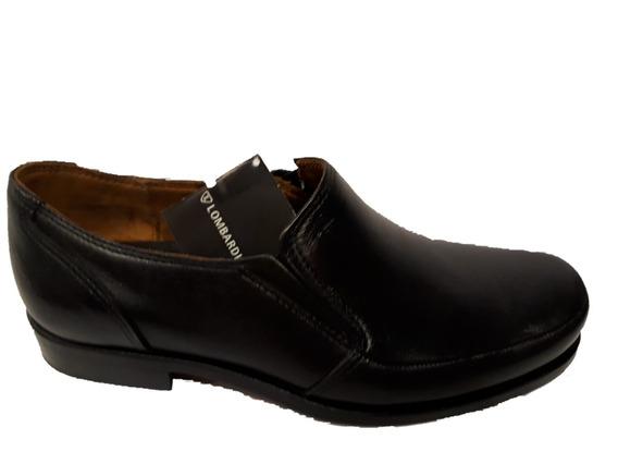 Zapato Lombardino Firenze / Negro / Cuero / 37 Al 45