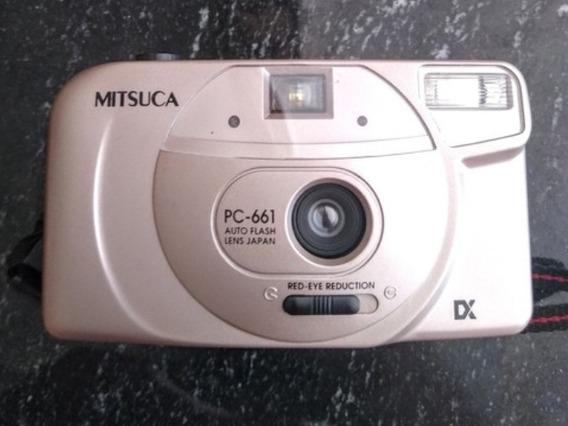 Câmera Analógica Mitsuca Pc-661( Ótimo Estado)