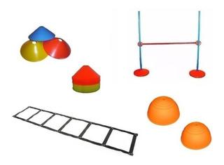 Set Kit De Entrenamiento 3 - Escalera Valla Conos Bosus
