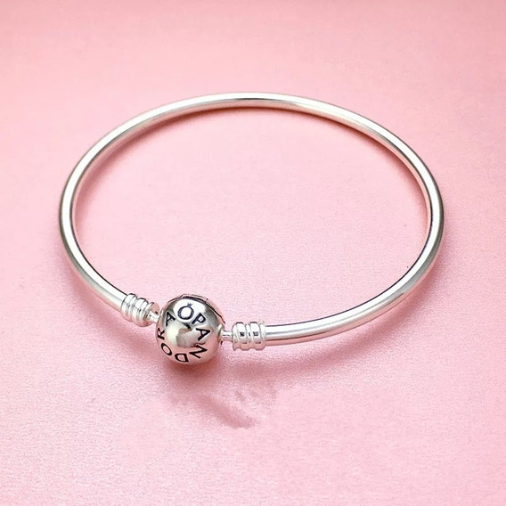 Bracelete Pandora Rígido Prata