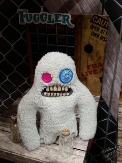 Fuggler Funny Ugly Monster Peluche White C/u