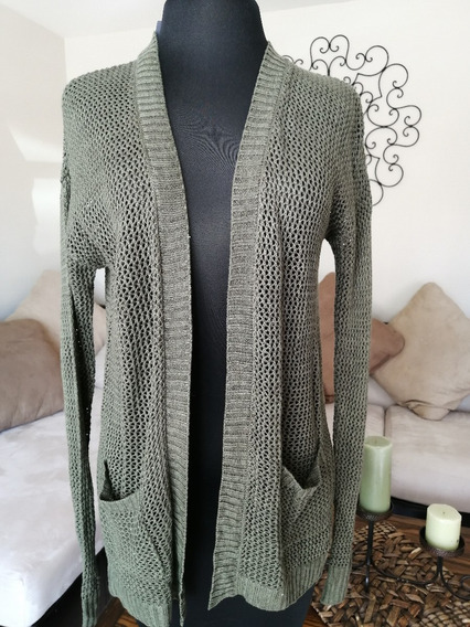 Outlet Sweater Mujer Verde Talla S
