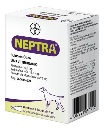 Neptra Solución Ótica Perros 2 Pipetas 1 Ml Bayer