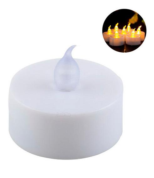 24 Velas Led Ambar Parpadeantes Decoracion Fiestas Boda Xv
