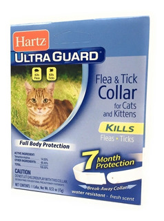 Collar Antipulgas Para Gatos Hartz Importado. Dura 7 Meses