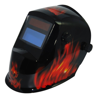 Máscara Fotosensible Careta Soldar Byp Wh8512 Profesional