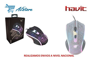 Mouse Gamer Havit Ms736 4 Teclas Luz Led Entrada Usb