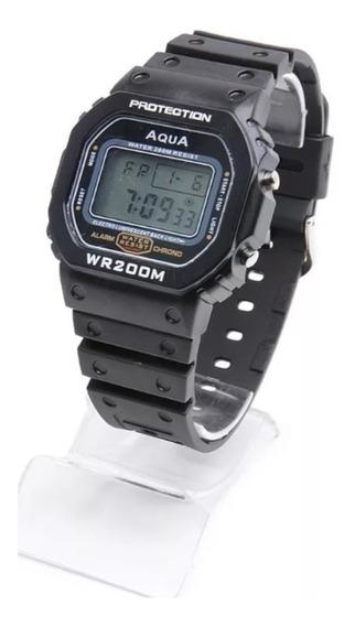 Relógio Bolsonaro Presidente Digital Aqua O Verdadeiro