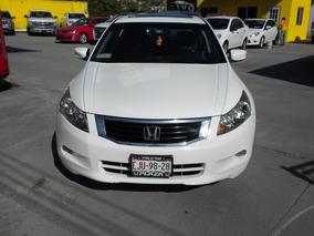 Accord 3.5 Ex Sedan V6 Piel Abs Qc Cd Aut 2010 Blanco