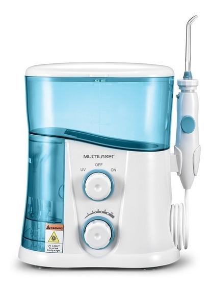 Irrigador oral Multilaser HC038 branco/azul 110V/220V