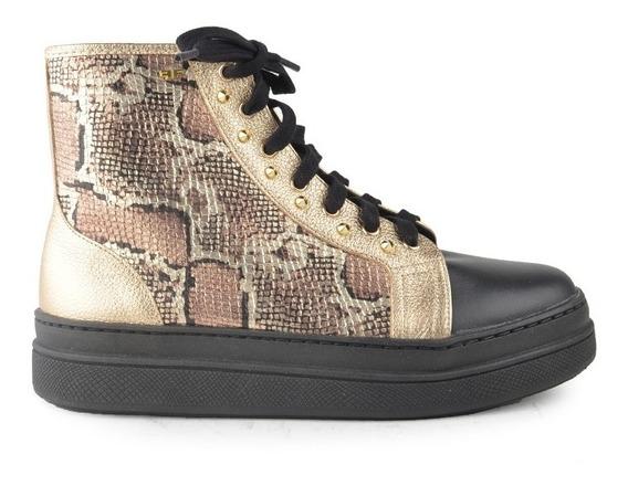 Zapatillas Zapatos De Mujer De Cuero Vacuno Kirov - Ferraro