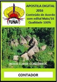 Apostila Funai 2016 - Contador