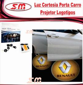 Luz De Cortesia Projetor Porta Logomarca Renault