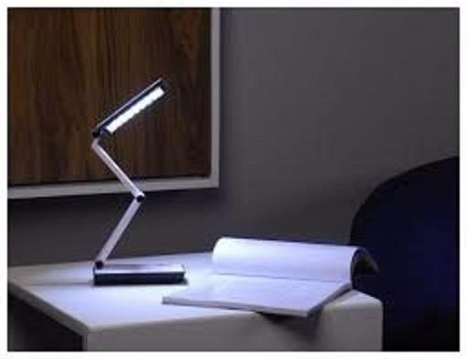 Luminária Para Escritório Leitura C/ 24 Leds Bateria Interna