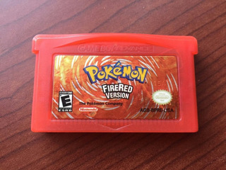 Pokemon Firered - Gba