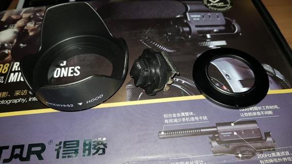 Microfone Takstar Sgc598 E Acessorios Para Handycam Sony