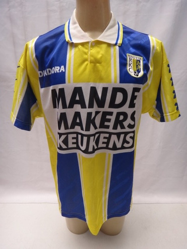 Camisa Futebol Do Rkc Waalwijk Da Holanda Diadora Linda - Zz