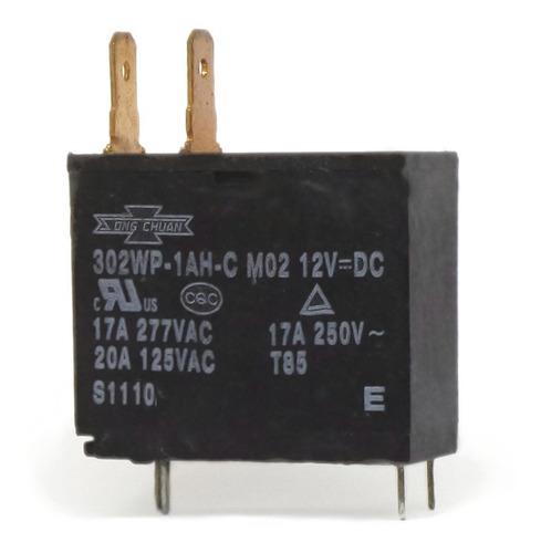 Imagem 1 de 1 de Relé Electrolux 302wp-1ah-c M07 12v=dc 17a 277vac 20a 125vac
