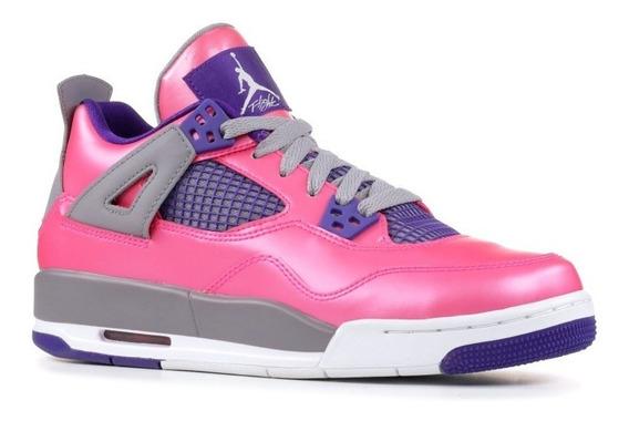 Air Jordan 4 Retro Pink Foil