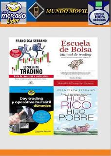 5 Libros Francisca Serrano Bolsa Trading Banca