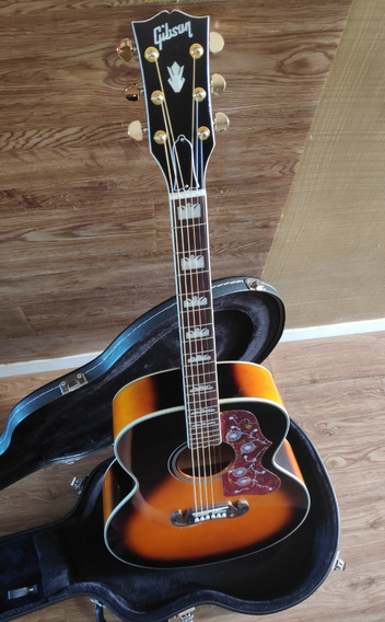 Lindo Violão Gibson J-200 Sunburst