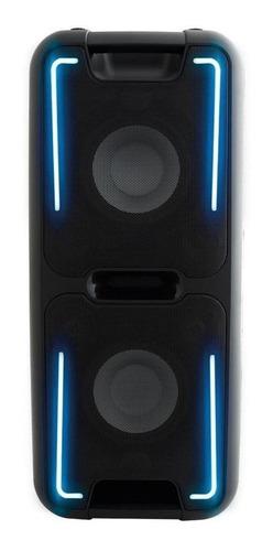 Caixa de som Philco PCX5500 portátil com bluetooth preta 110V/220V