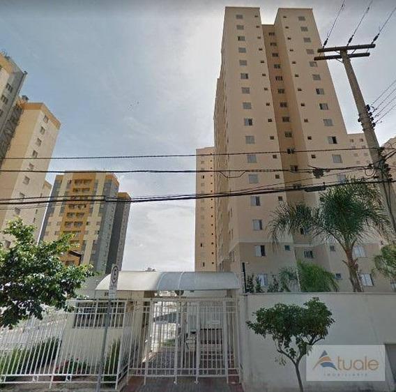 Apartamento Com 3 Dormitórios À Venda, 65 M² - Bonfim - Campinas/sp - Ap6500