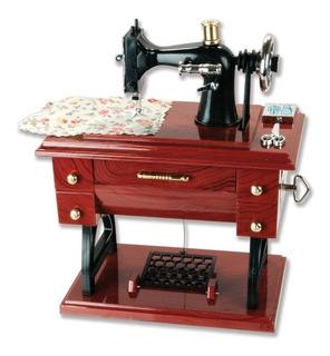 Caja De Música/máquina De Coser, Estilo Antiguo.(compare Ya)