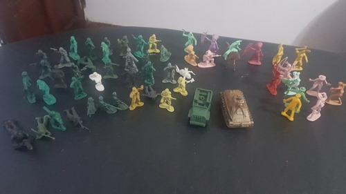 Soldaditos De Plastico Indios De Guerra Y Vaqueros De Los 90